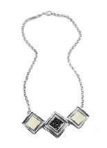 Raya Multi Necklace - Black/White