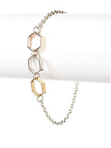 Triple Octagon Bracelet - more colors - As seen on the cover of Cosmopolitan for Latinas!
