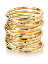 Triple Wired Ring- more colors: Seen on Fancy Hipster & Margo&Me!