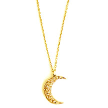 Moon Necklace -more colors: Seen on Sarah Jeffery!
