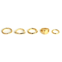 Dark Side of the Moon Ring Set -more colors:Seen on Molly Sims!