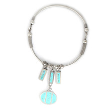 Loveland Necklace Silver/Turquoise