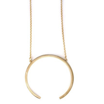 Large Ellipse Necklace -more colors