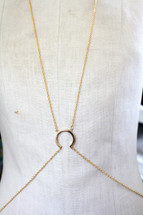 Ellipse Body Chain -more colors: Seen on Nichelle Hines!