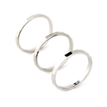 Circles Skinny Ring Set -more colors: Seen on Alyson Stoner & Katie Lowes of Scandal!