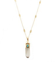 Phoebe Long Necklace: Seen on Today Show & Frank Vinyl!