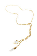Wild Child Lariat Wrap Necklace