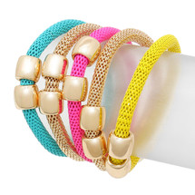 Rainbo Bracelet Set: Seen in Stylewatch!