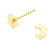 Twinkle Stud Earrings (gold filled)