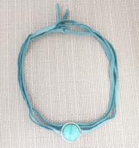 Turquoise Choker: Seen on Fashionlaine