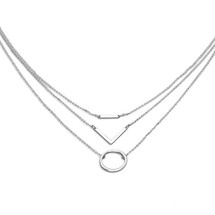 To The West Necklace Silver