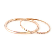 Around And Around Bangle Set Rose: Seen in Oprah! SOLD OUT!