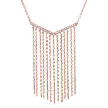 Rosie Fringe Necklace (sterling)