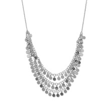 Layered Discs Necklace *Sterling Silver*