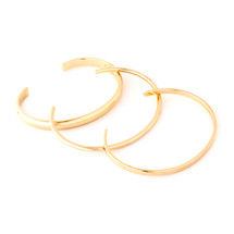 Triple Play Cuff Set - Gold