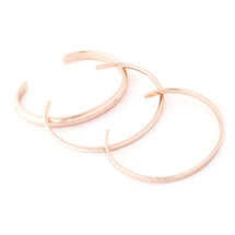Triple Play Cuff Set - Rose