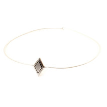 Diamond Sky Collar -Antique Silver: Seen on Daya!