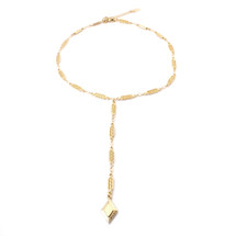 Diamond Sky Lariat -Gold