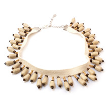Wooden Choker: Seen on Joslyn Davis!