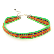 Festival Nights Choker -Green: Seen on Dawn McCoy!