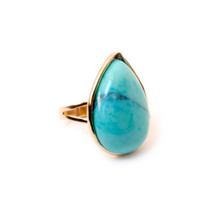 Sunset Drive Ring -Turquoise