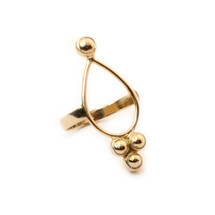 Teardrop Ring -Gold