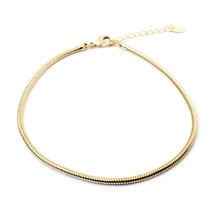 Smooth Roads Choker -Gold: Seen on Today Show & Kenzie Elizabeth!