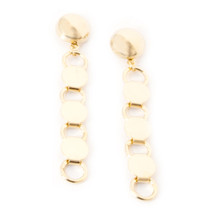 Going In Circles Earring -Gold