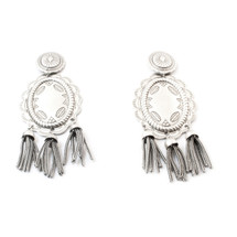 Silver City Earring