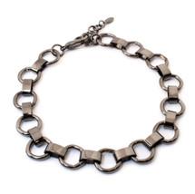 Ring Around Choker -Gunmetal