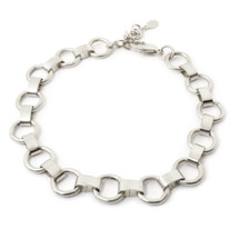Ring Around Choker -Silver