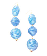 SOLD OUT! Sardinia Drop Earrings *Limited Edition*: Seen on Code of Style! And in Weight Watchers!