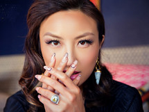 Lola Cone Earrings - Seen on Jeannie Mai!