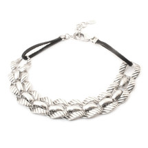 Sedona Choker -Silver: Seen on Griffin Arnlund!