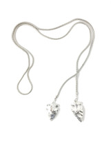 Silvered Arrows Necklace