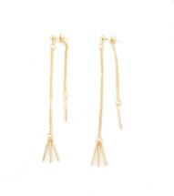 Nomad Earring -Gold: Seen on It's Le Jules!
