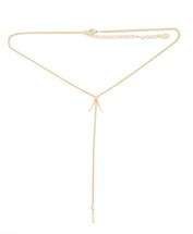 Nomad Y Necklace -Gold
