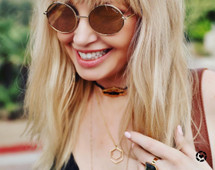 Darling Choker - Black: Seen on Today + on The Current Crush