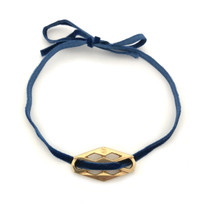 Darling Choker - Navy: Seen on Today Show!