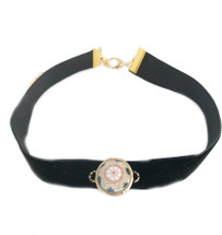 Morocco Velvet Choker -Black: Seen on Today Show!