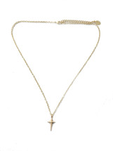 Single Criss Cross Necklace