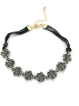 Black Roses Choker: Seen on Today Show!