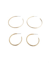 Perfect hoops Set -Gold