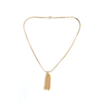 Everyday Tassel Necklace - Gold