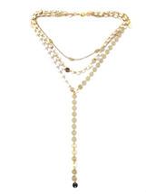 Circles Pre-Layer Drop Necklace