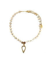 Circles Teardrop Choker: Seen on Hunt For Styles!