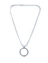 Full Circle Necklace - Silver