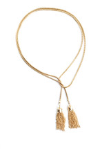 Tassels Convertible Wrap Necklace: Seen In LeFair Magazine!