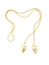 Golden Arrows Necklace