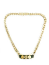 Triple Initial ID Necklace -NEW!